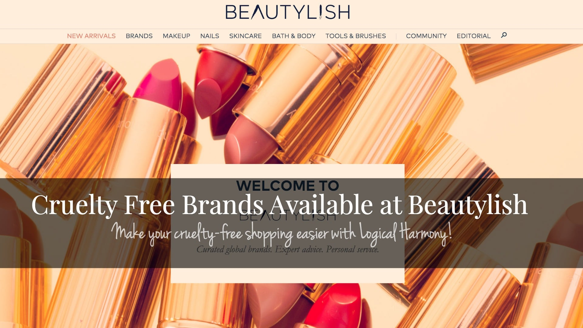 Cruelty Free Brands Available at Beautylish