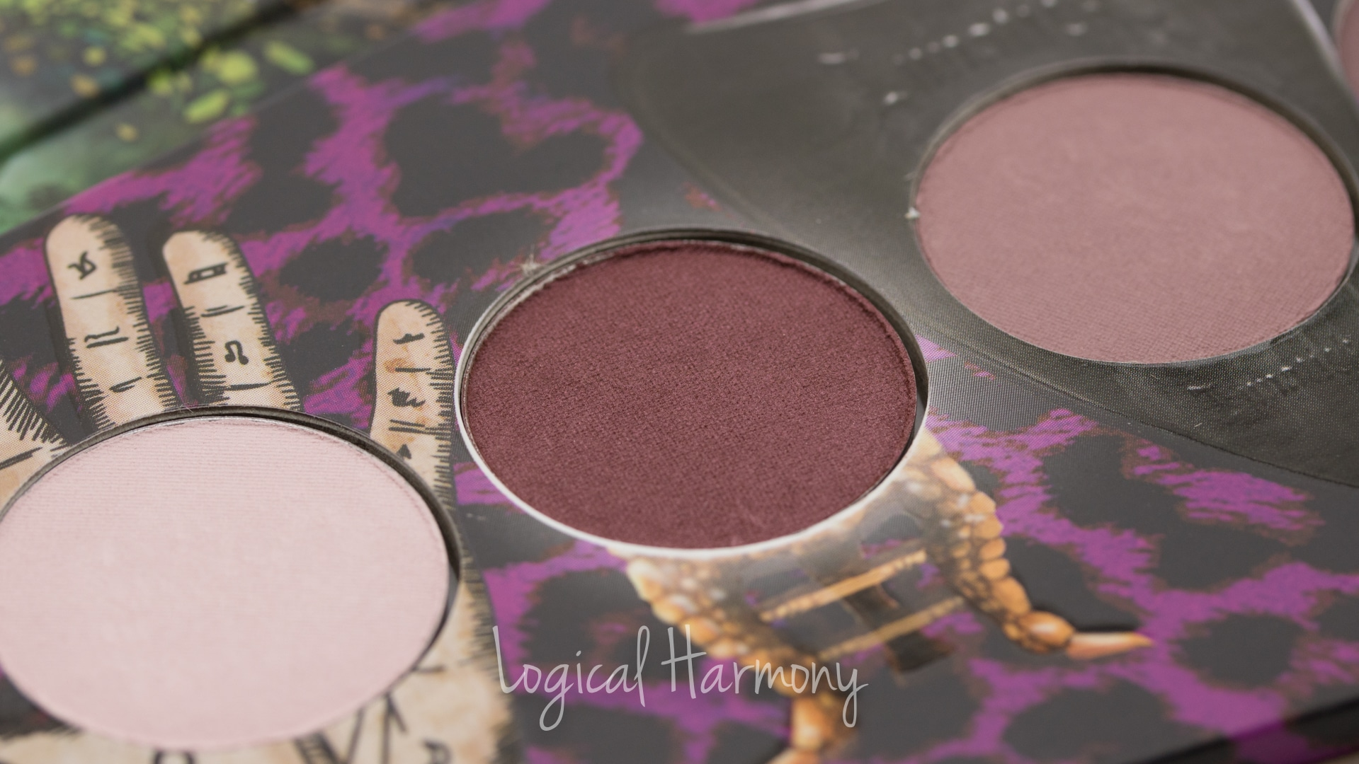 Lunatick Cosmetic Labs Supernatural Palette Swatches & Review