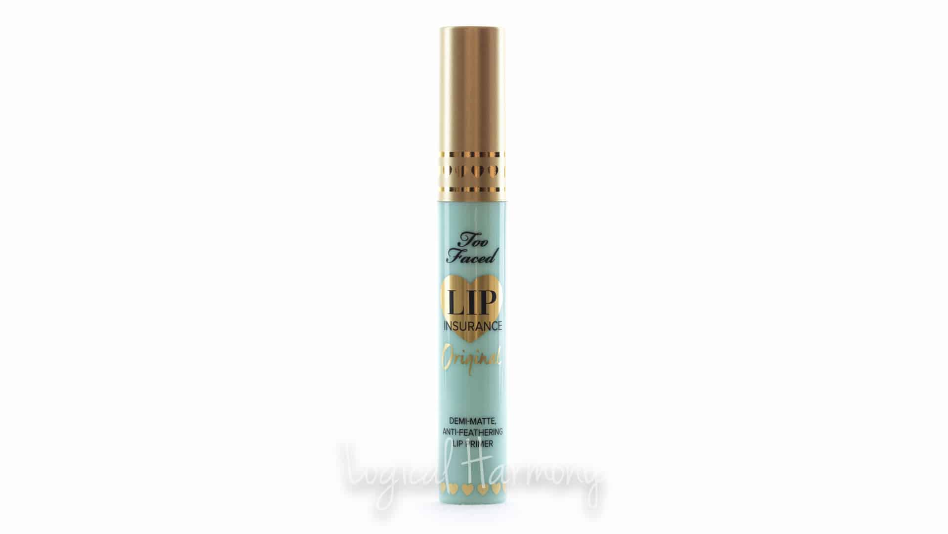 Too Faced Lip Insurance Lip Primer Review