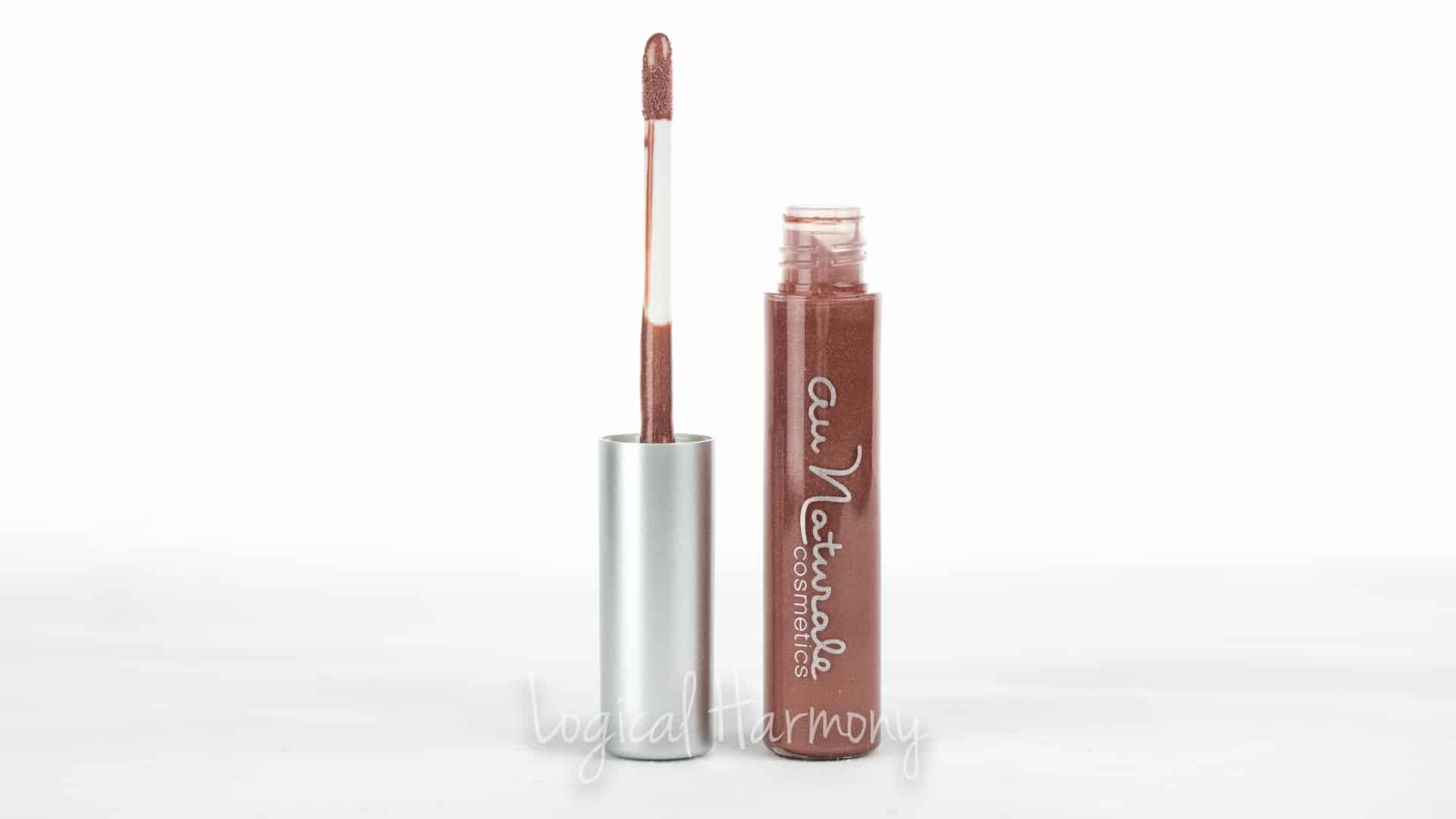 Au Naturale Lip Gloss in Nudist Review