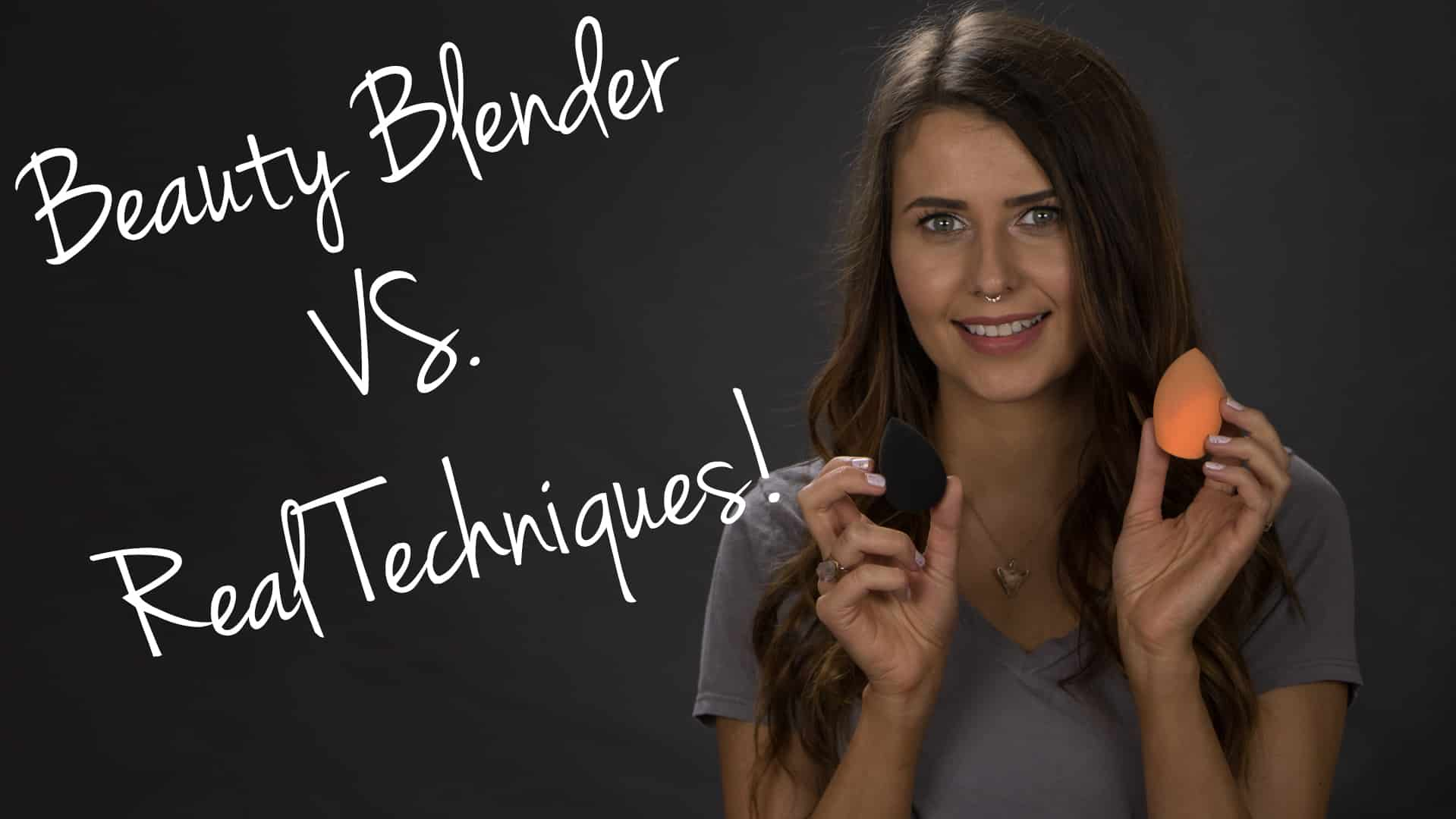 beautyblender & Real Techniques Comparison