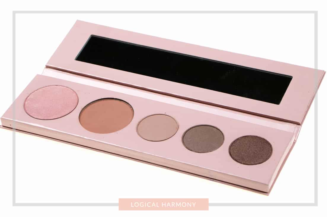 100% Pure Pretty Naked Shadow Palette Review