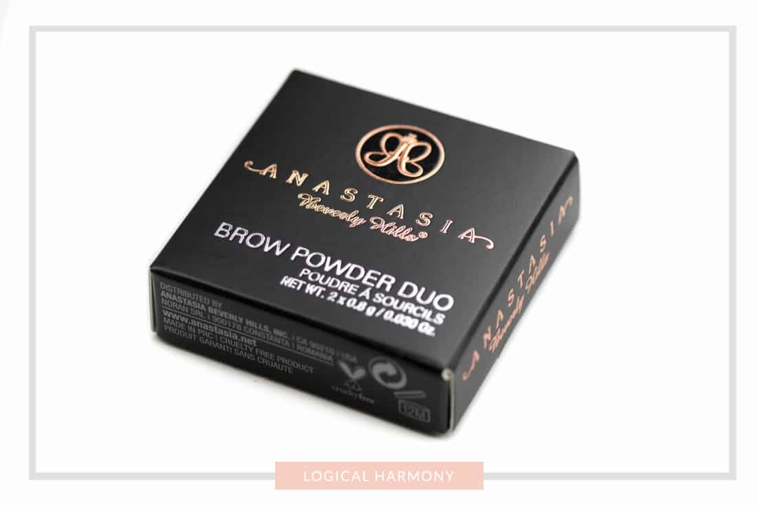 Anastasia Beverly Hills Brow Powder Duo Review