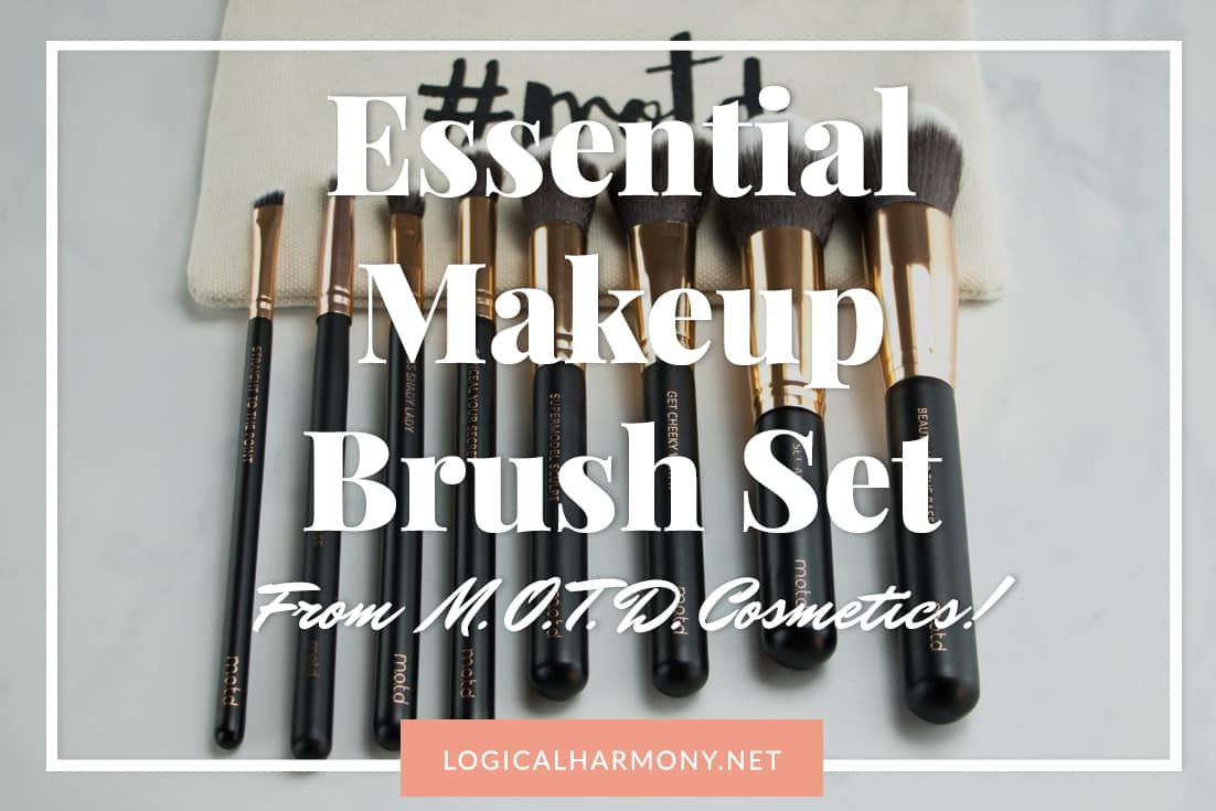 MOTD Cosmetics Lux Makeup Brush Essentials Set