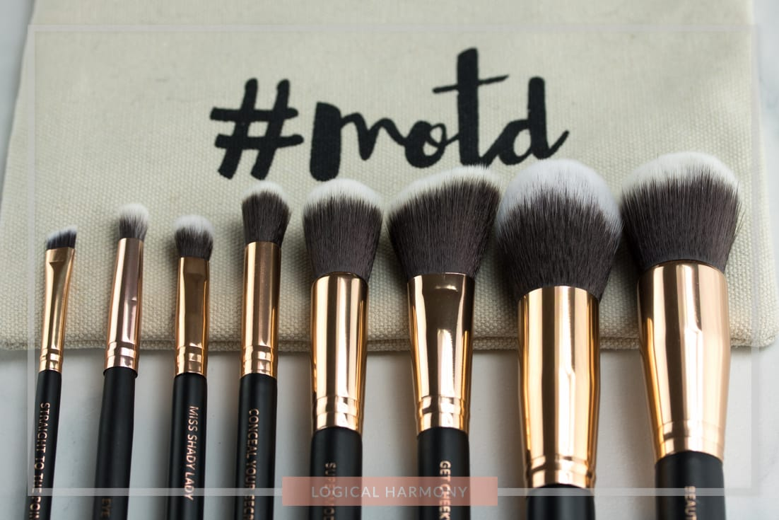MOTD Cosmetics Lux Makeup Brush Essentials Set