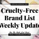Cruelty Free Brand List Weekly Update