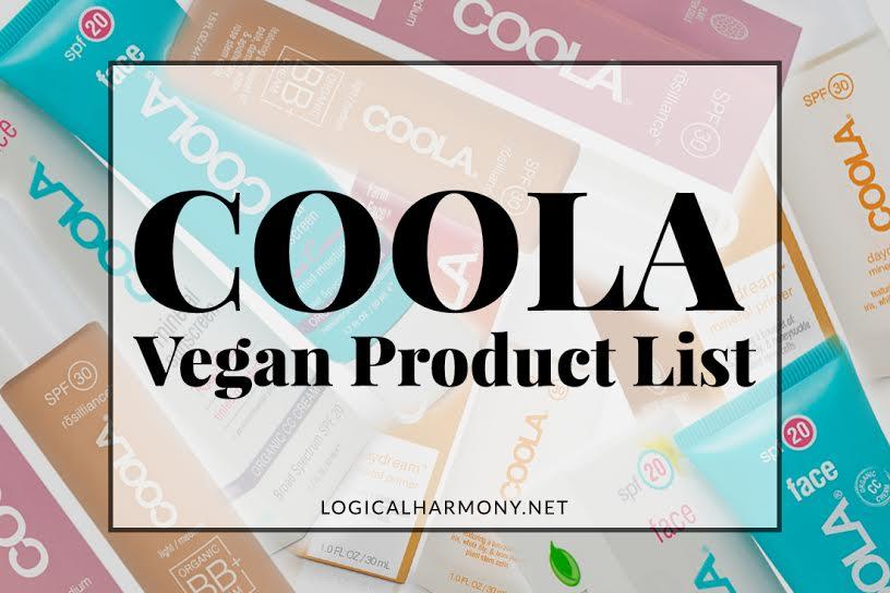 COOLA Vegan Products List