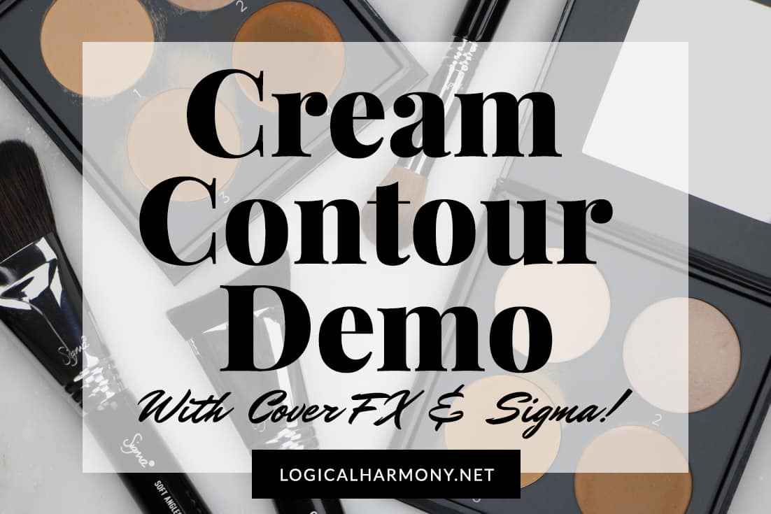 Cream Contour Demo with Cover FX & Sigma
