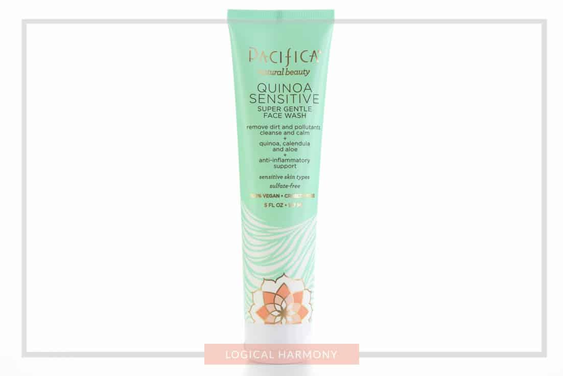 Pacifica Quinoa Sensitive Face Wash Review