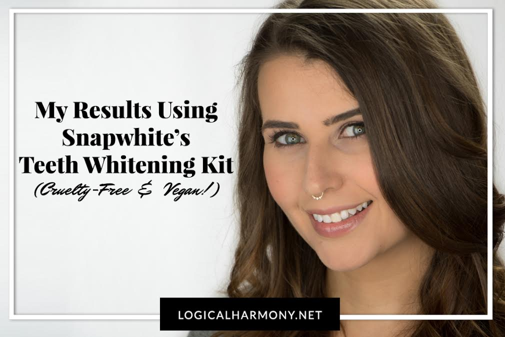 Snapwhite Review - My Results using a Cruelty-Free & Vegan Teeth Whitening Kit