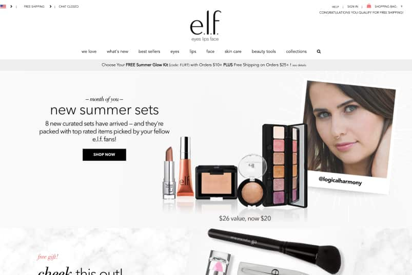 Logical Harmony Curated Collection for ELF Cosmetics!