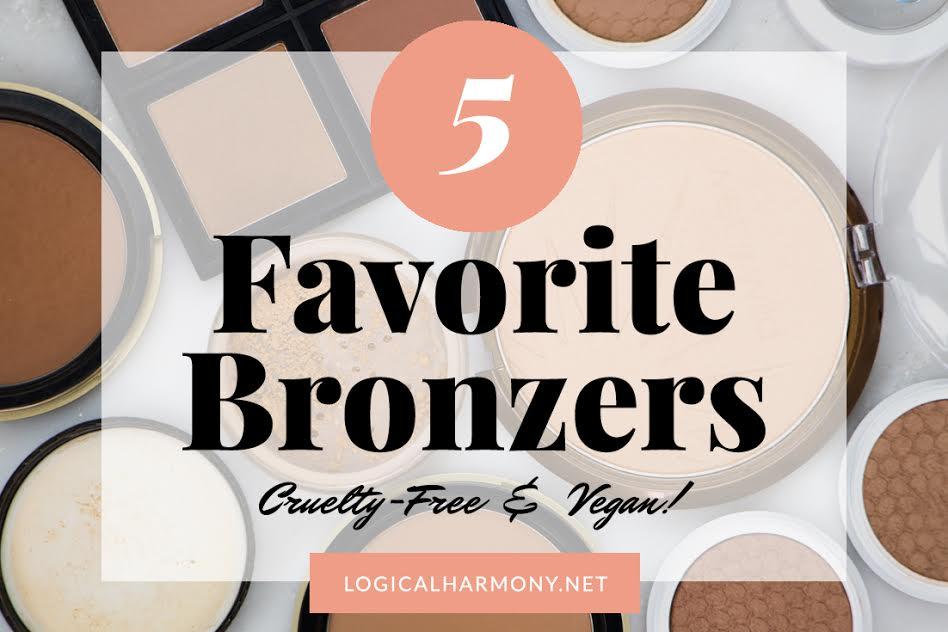 Top 5 Favorite Cruelty-Free & Vegan Bronzers