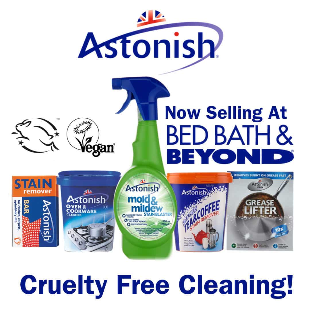 Cruelty-Free Cleaning Brand Astonish Launching in US!