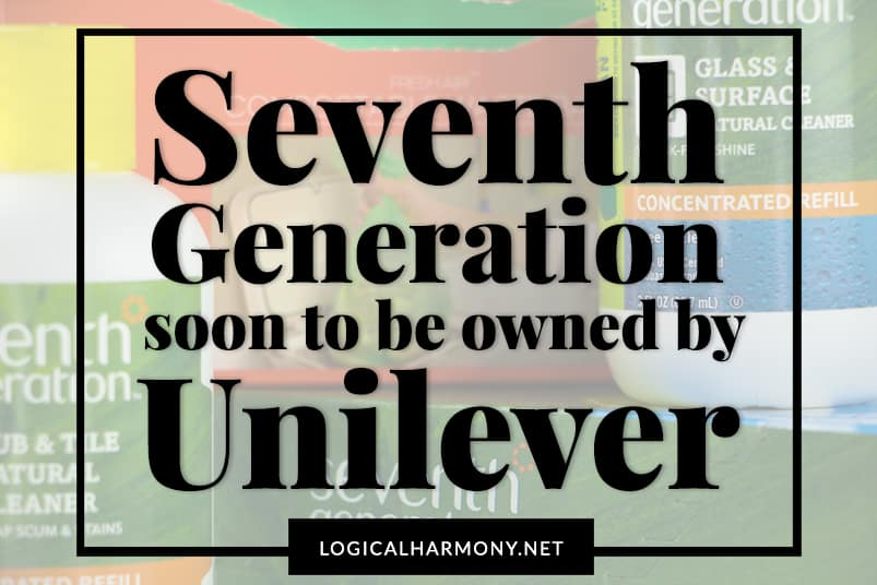 Seventh Generation to be Bought by Unilever