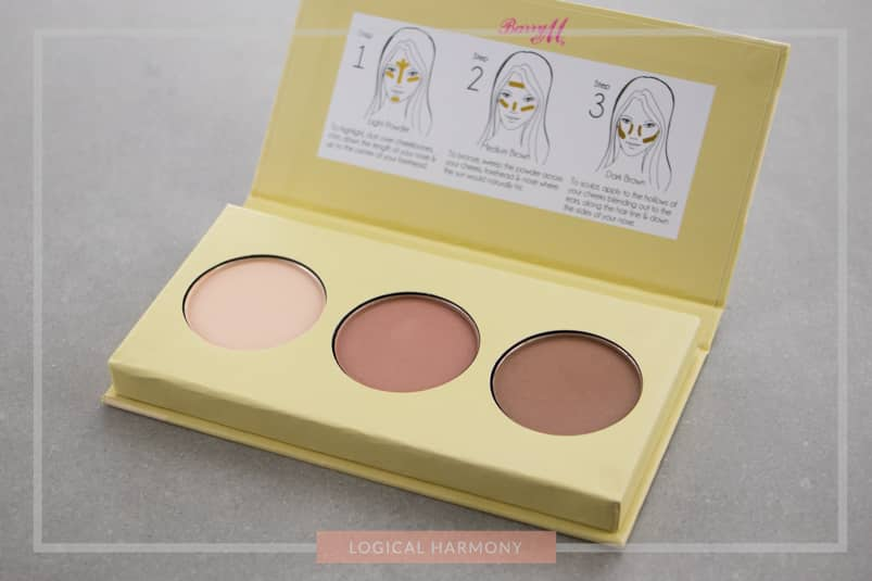 Barry M Flawless Chisel Cheeks Contour Kit Review