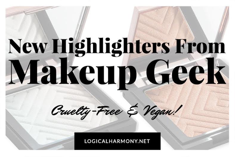 New Makeup Geek Vegan Highlighters