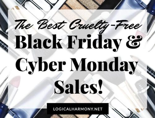 Cruelty-Free Black Friday & Cyber Monday Sales
