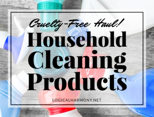 Cruelty-Free Cleaning Products Haul