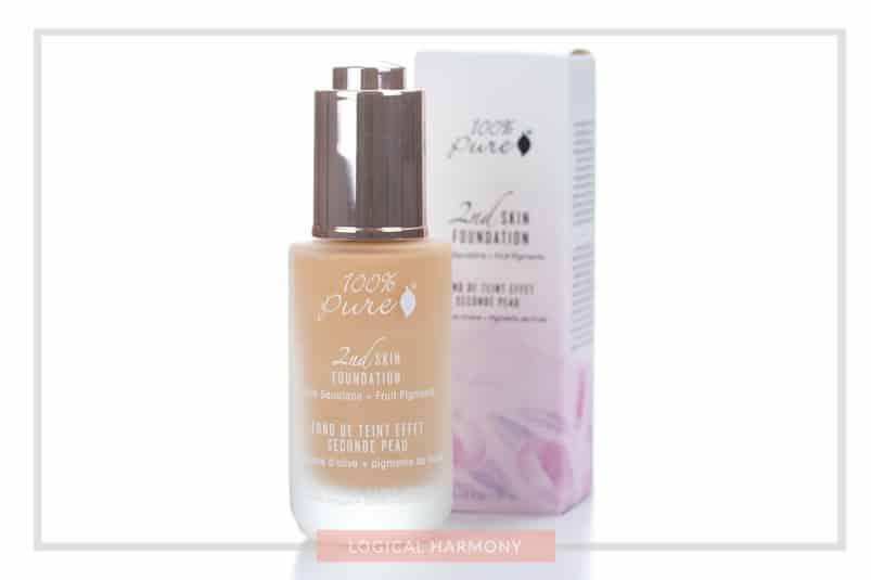 100% Pure Second Skin Foundation Review & Demo