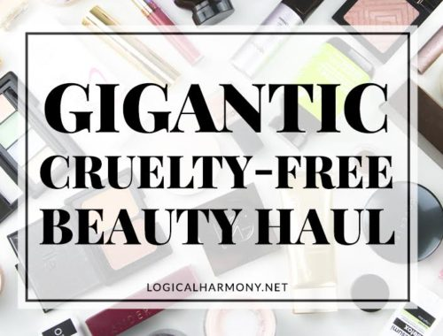 Gigantic Cruelty-Free Beauty Haul