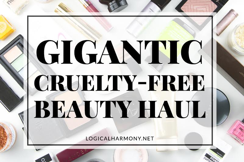 Gigantic Cruelty-Free Beauty Haul