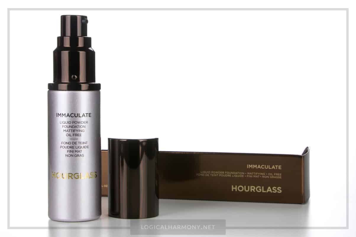 Hourglass Cosmetics Immaculate Foundation Review & Demo #FoundationFriday