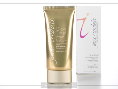 Jane Iredale Glow Time BB Cream Review & Demo #FoundationFriday
