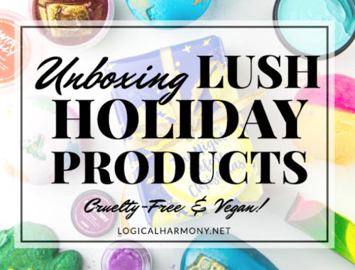 Lush Holiday Haul & Unboxing