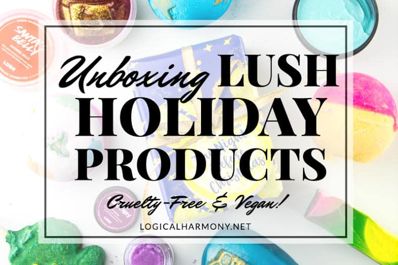Lush Holiday Haul & Unboxing