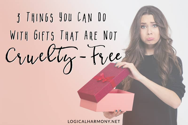 Three Things You Can Do With Gifts That Are Not Cruelty-Free, Vegan Makeup