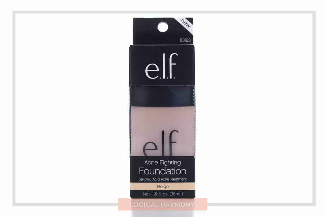 ELF Acne Fighting Foundation Review & Demo #FoundationFriday