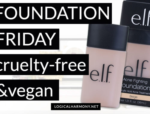 ELF Acne Fighting Foundation Review & Demo #FoundationFriday