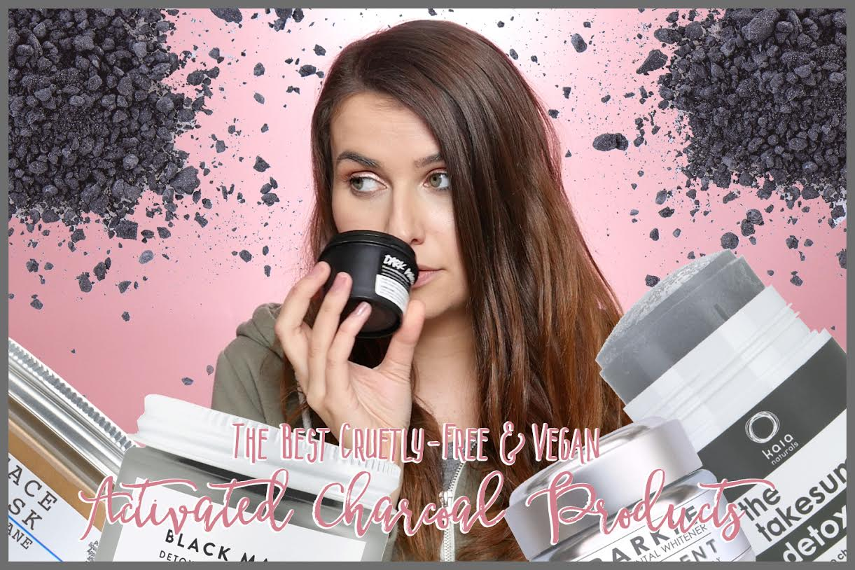 My Top Activated Charcoal Beauty Products