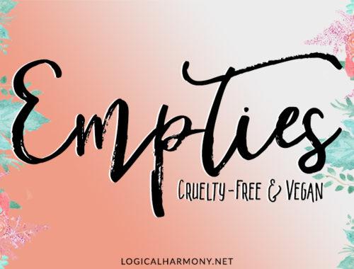 Recent Cruelty-Free Empties