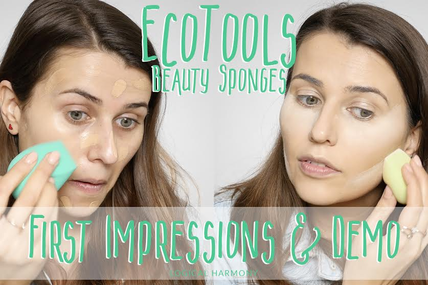 First Impressions & Demo - New EcoTools Beauty Sponges