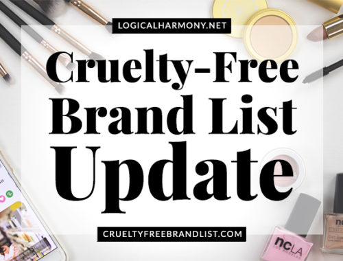 Cruelty-Free Brand List Update