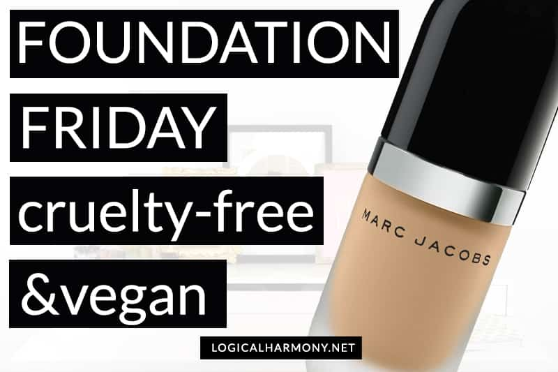 Marc Jacobs Beauty Re(marc)able Foundation Demo #FoundationFriday