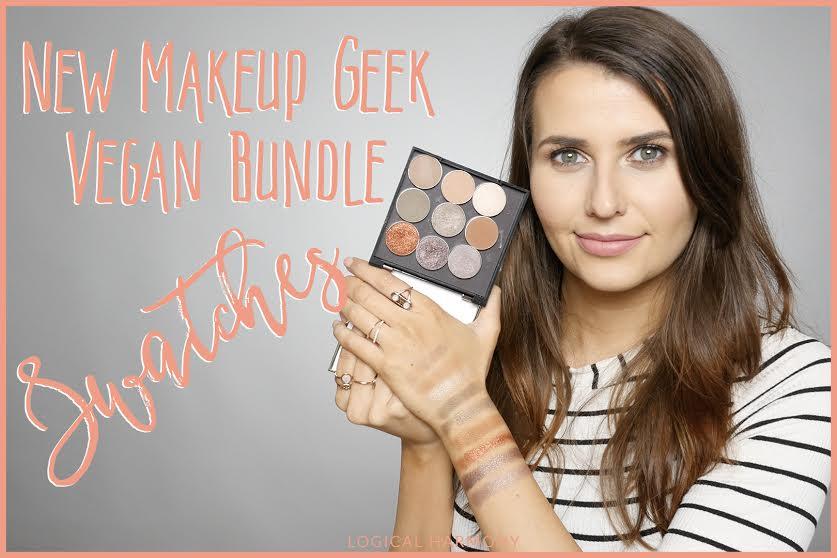 New Makeup Geek Vegan Bundle Swatches