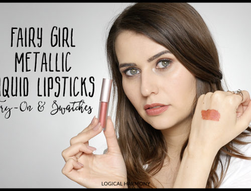 Fairy Girl Metallic Liquid Lipstick Swatches & Try On