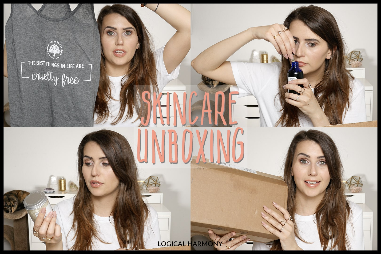 New Cruelty-Free Skincare from Franklin & Whitman Unboxing!