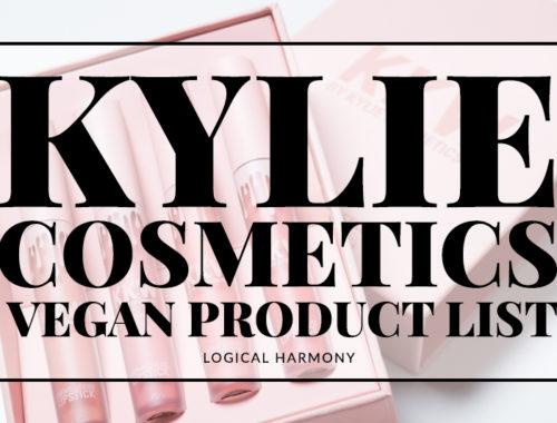 Kylie Cosmetics Vegan Products List
