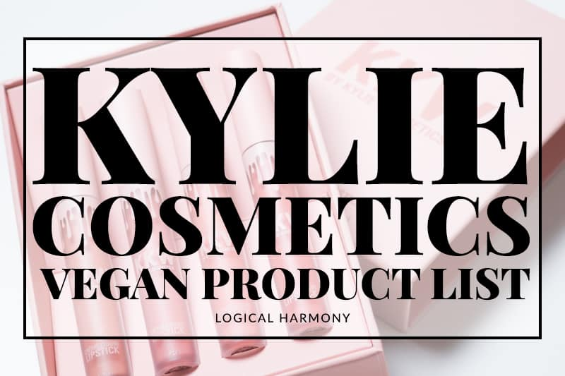 Kylie Cosmetics Vegan Products List
