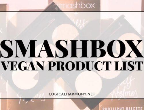 Smashbox Vegan Products List