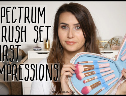 Spectrum Collections The Bomb Shell Pearly Queen Cruelty-Free Brushes First Impressions
