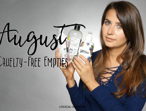 Summer Cruelty-Free Empties