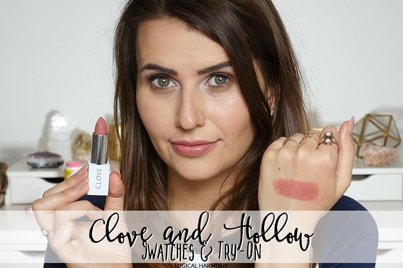 Clove + Hallow Lip Swatches & Try-On