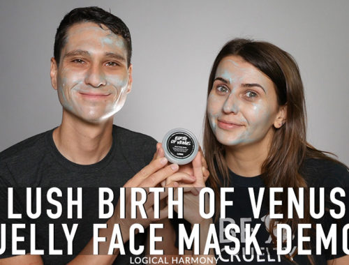 Lush Birth of Venus Jelly Mask Demo & First Impressions