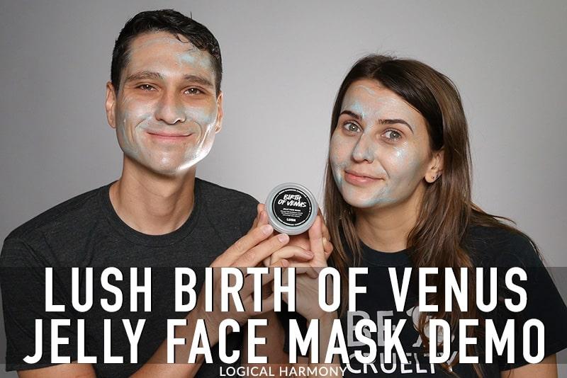 Lush Birth of Venus Jelly Mask Demo & First Impressions