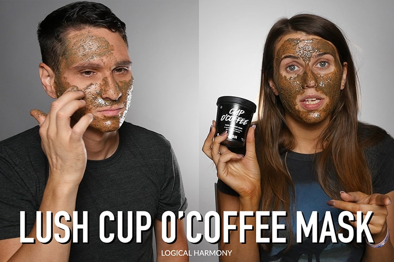 Lush Cup O' Coffee Mask Demo & Review