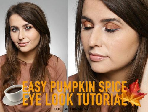 Cruelty-Free Pumpkin Spice Eye Look